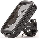 ウミネコ 防水 スマホホルダー 強力NEKO-SHELL01 自転車 バイク オフロード スマホ ケース ホルダー 落下防止 ワイヤー 3本 セット