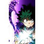 僕のヒーローアカデミア FVGA(480×800)壁紙 緑谷出久