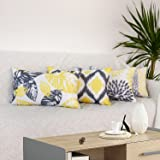 cygnus Outdoor Lumbar Pillow Covers 12x20 Inch Set of 4 Pu Coating Waterproof Outdoor Throw Pillow Covers Patio Furniture Cus