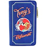 Loungefly x Disney Lady and the Tramp Tony's Menu Bi-Fold Wallet