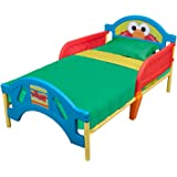 Delta Children Plastic Toddler Bed, Sesame Street