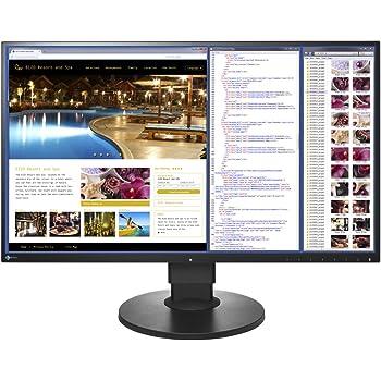 EIZO FlexScan 27.0インチ カラー液晶モニター ( 2560×1440 / IPSパネル / 5ms / ノングレア/ ブラック ) EV2750-BKR