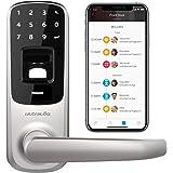 Ultraloq UL3 BT Bluetooth Enabled Fingerprint and Touchscreen Smart Lock (Satin Nickel)