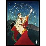マジック:ザ・ギャザリング プレイヤーズカードスリーブ 『ストリクスヘイヴン:魔法学院』日本画ミスティカルアーカイブ 《選択》 MTGS-159