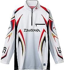 ダイワ(Daiwa) 釣り シャツ 長袖 ジップアップシャツ スペシャルアイスドライ メッシュ DE-7006