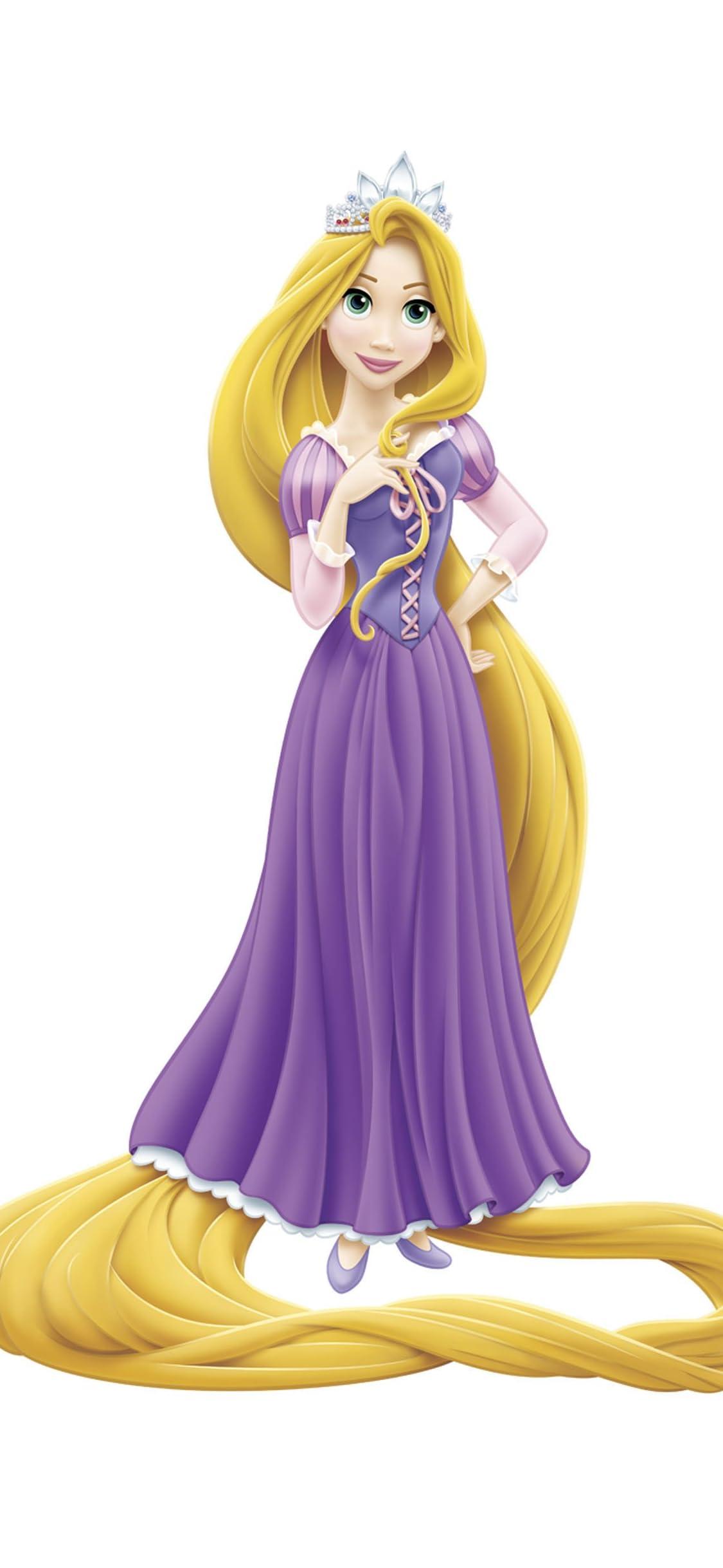 ディズニー ラプンツェル Rapunzel Iphone X 壁紙 1125x2436 画像 スマポ