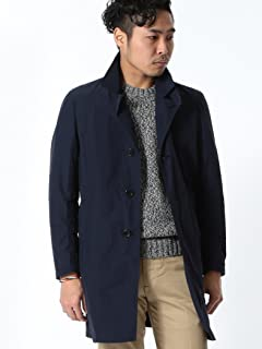 Single Breasted Trench Coat 51-19-0149-565: Navy