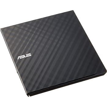 ASUS バスパワー対応外付けポータブルDVDドライブ M-disc対応/スリムタイプ/Win/Mac対応/書込みソフト付属/ブラック SDRW-08D2S-U LITE