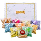 Longer Backflow Incense Cones 180 PCS 9 Kinds of Natural Handwork Scents Gift Package Sandalwood Lavender Rose ,Waterfall Inc