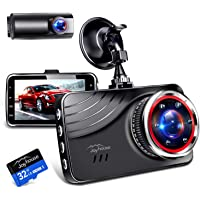 【Sonyセンサー & 360度回転リアカメラ】 ドライブレコーダー 前後カメラ 赤外線補助ライト 170度超広角 12…