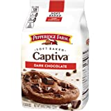 Pepperidge Farm Soft Baked Captiva Dark Chocolate Brownie Chunk Cookies, 244 g
