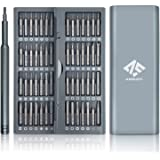 AUSELECT Precision Screwdriver Set (57-in-1) with Magnetic Head Screwdriver Tool Pop-Up Storage Box for Computer, Laptop Repa