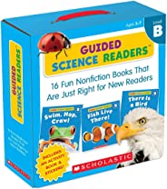 Guided Science Readers: Level B: 16 Fun Nonfiction Books That Are Just Right for New Readers