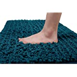 Yimobra Original Luxury Shaggy Bath Mat, 24 x 17 Inches, Soft and Cozy, Super Absorbent Water, Non-Slip, Machine-Washable, Th