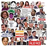 The Office Sticker Pack of 50 Stickers - The Office Stickers for Laptops, The Office Laptop Stickers, Funny Stickers for Lapt