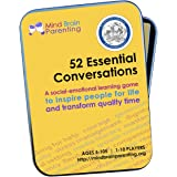 52 Essential Conversations: The Life Skills Card Game for Children and Adults - Builds Social Emotional, Critical Thinking, G