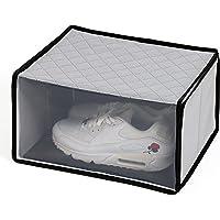 アストロ シューズボックス グレー 活性炭 消臭 シューズ 収納ケース 靴収納 171-64