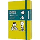 "Moleskine Limited Edition Peanuts 18 Month 2020-2021 Weekly Planner, Hard Cover, Pocket (3.5"" x 5.5"") Football"