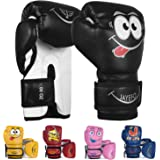 Jayefo Kids Boxing Gloves for Kids 4 6 Oz Training MMA Boys Girls Punching Bag Kickboxing Muay Thai Youth Junior Gloves Gift