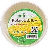 Biogreen Disposable 6-oz Bowl, Milky White (Pack of 20)