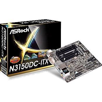 ASRock N3150DC-ITX ITXマザーボード Braswell ACアダプタ対応 MB3464 N3150DC-ITX
