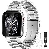 BesBand コンパチブル apple Watch バンド 38mm 40mm 42mm 44mmと互換性のあるアップ…