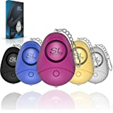 SLFORCE Safe Personal Alarm Siren Song - 130dB Safesound Personal Alarms for Women Keychain with LED Light, Emergency Self De