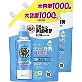 【まとめ買い】ヤシノミ洗たく洗剤 濃縮タイプ 詰替 1000ml×2個