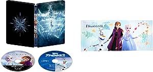 【Amazon.co.jp限定】アナと雪の女王2 4K UHD MovieNEX スチールブック(丸眞コラボレーション企画 オリジナルフェイスタオル付き) [4K ULTRA HD+ブルーレイ+デジタルコピー+MovieNEXワールド] [Blu-ray]