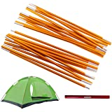 Overmont Camping Gears Cookware Set Kettle Tent Poles Outdoor Cooking Tarp Replacement Mess Kit Pots Pan for Backpacking Hiki