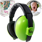 (Green) - Friday Baby Ear Protection - Noise Cancelling Earmuffs for Kids (Green)