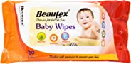 Beautex Baby Wipes, 30ct (Pack of 2)