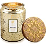 Scented Jar Candles for Home,Aromatherapy Candles Gifts for Women,18 oz 125 Hours Soy Wax Large Long Lasting Time Candle Home