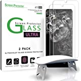 amFilm Ultra Glass Screen Protector for Galaxy S20 Ultra (2 Pack), Full Cover (Fingerprint Scanner Compatible) Tempered Glass