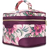 DRQ Large Makeup Bag-Multifunction Portable Toiletry Bag Cosmetic Makeup Pouch Case Organizer for Travel,Calico Collection Co