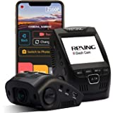 """Rexing V1-4K Ultra HD Car Dash Cam 2.4"""" LCD Screen, Wi-Fi, 170° Wide Angle Dashboard Camera Recorder with G-Sensor, WDR, Loop"""