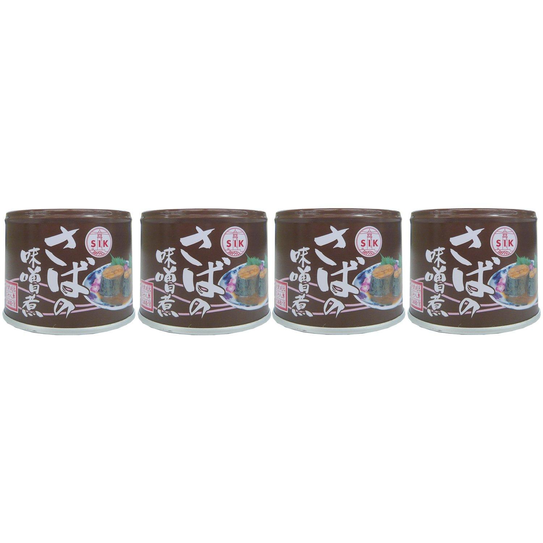 信田缶詰 さばの味噌煮 1セット(190g×2個)
