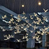 Laugh Cat Creative DIY Flying Bird Decorative Ceiling Hanging Ornaments Christmas Tree for Home Kindergarten Shopping Mall Ho