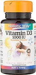 HOLISTIC WAY Vitamin D3 1000IU, 100 count