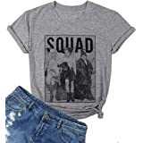Hocus Pocus Squad Shirts Plus Size Women Halloween Sanderson Sisters Graphic Tees for Women Funny Shirts Fall Casual Tops