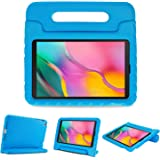 ProCase Kids Case for Galaxy Tab A 10.1 2019 T510 T515 T517, Shock Proof Convertible Handle Stand Cover Light Weight Kids Fri