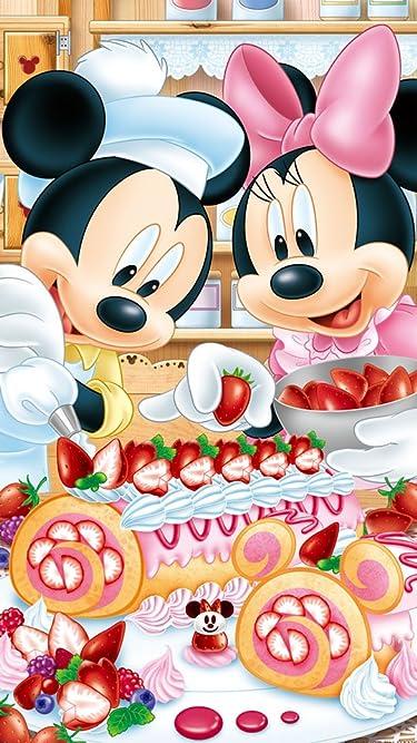 ディズニー  iPhone/Androidスマホ壁紙(540×960)-1 - ベリーベリー・ロールケーキ