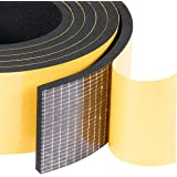 "High Density Adhesive Foam Seal Tape 2"" W X 1/4"" T, Weather Strip Insulation for RV, Air Conditioning Window, Garage Door, 13"