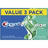 Crest Complete Whitening Plus Scope Toothpaste - Minty Fresh, 6.2 oz, Pack of 3