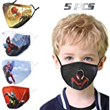 Washable Kids Face Mask with Adjustable Ear Loops Reusable for Children Gift