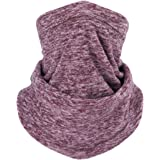 Neck Gaiter Warmer Soft Fleece Face Mask for Cold Weather Winter Outdoor Sports Ski Keep Warm