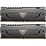 Patriot Viper Steelスシリーズ デスクトップ用extremeパフォーマンス、独自のアルミグリース DDR4 PC4-25600 (3200MHz) 1.35V 32GBキット- PVS432G320C6K