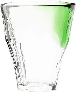 東洋佐々木ガラス 焼酎グラス 和がらす温 お湯わり焼酎ぐらす グリーン 日本製 340ml 42110TS-WHDG