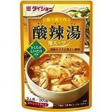 ダイショー 豆腐と卵で作る 酸辣湯用スープ 300g×4個