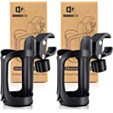 Pack of 2 Stroller Drink Holders | Universal Cup Holder for Bikes Trolleys or Walkers
